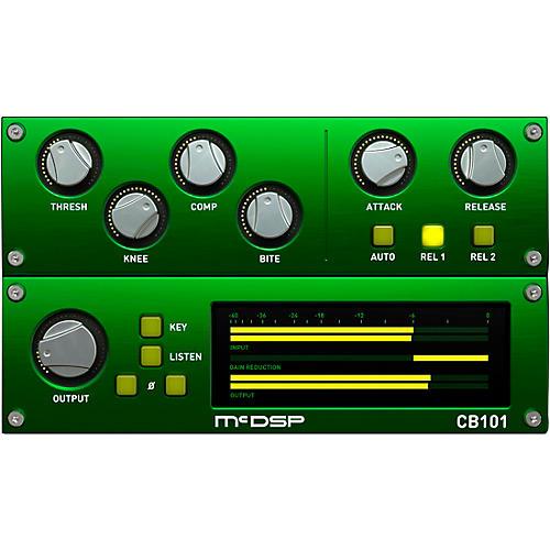 McDSP CompressorBank HD v6 (Software Download)