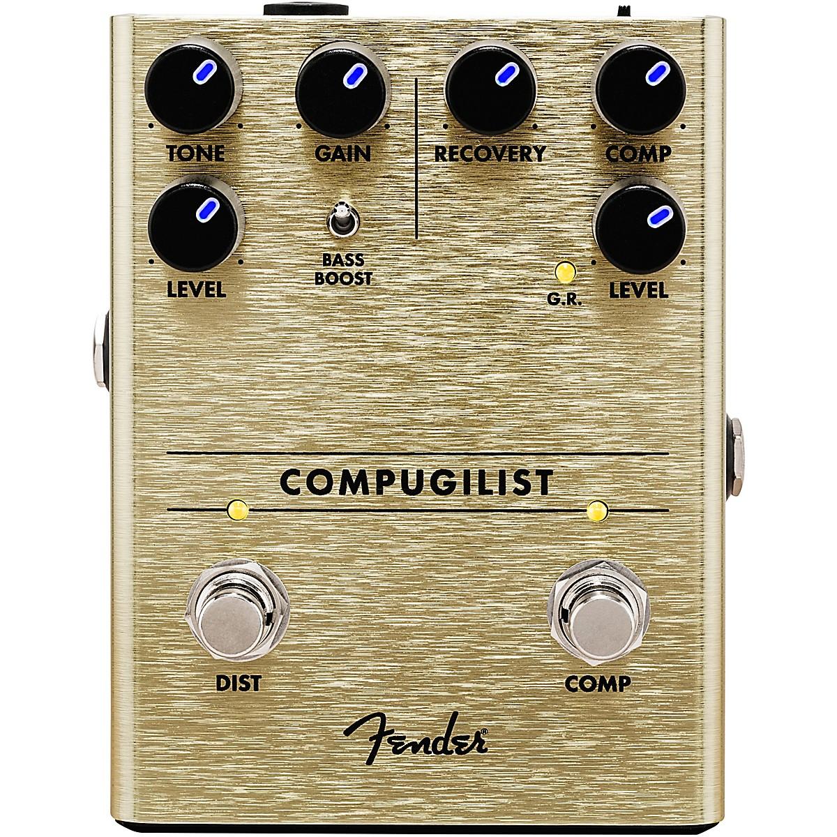 Fender Compugilist Compressor/Distortion Effects Pedal