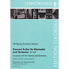 Sikorski Conc in A Major for Clarinet and Orchestra, K. 622 Ensemble Softcover by Mozart Arranged by Gottwald