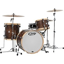 Concept Classic 3-Piece Shell Pack with 22 in. Kick Walnut/Natural