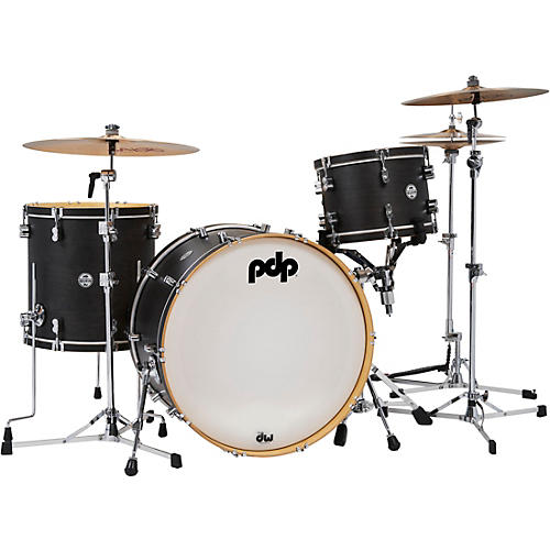 PDP by DW Concept Classic 3-Piece Wood Hoop Shell Pack with 24 in. Kick
