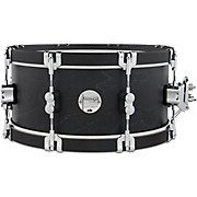 Concept Classic Snare Drum with Wood Hoops 14 x 6.5 in. Ebony/Ebony Hoops