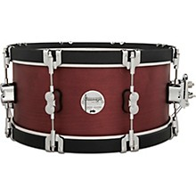 Concept Classic Snare Drum with Wood Hoops 14 x 6.5 in. Ox Blood/Ebony Hoops