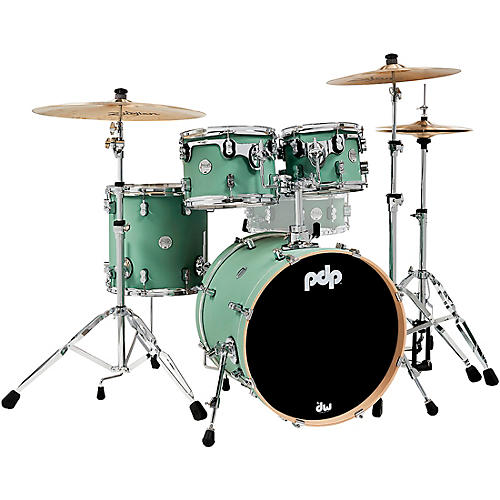 PDP by DW Concept Maple 4-Piece Fusion Shell Pack with Chrome Hardware