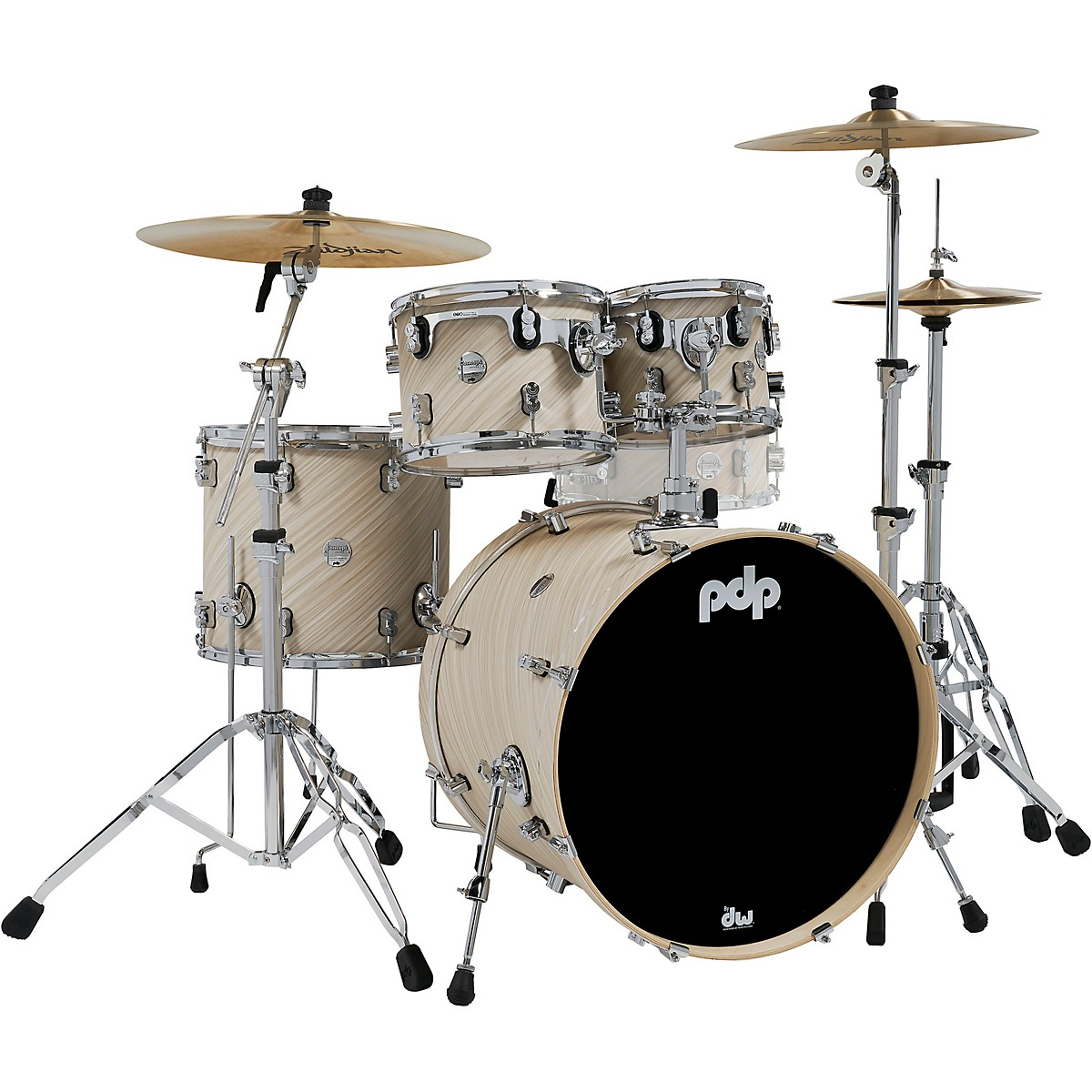 PDP by DW Concept Maple 4-Piece Shell Pack with Chrome Hardware