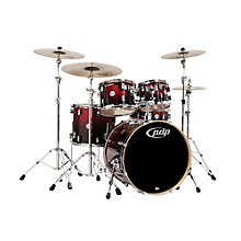 Concept Maple 5-Piece Shell Pack Red To Black Fade