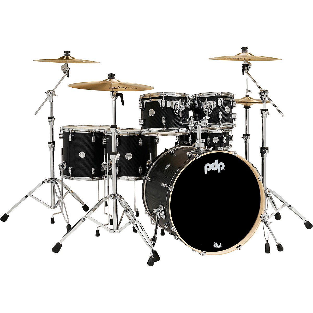 PDP by DW Concept Maple 6-Piece Shell Pack with Chrome Hardware