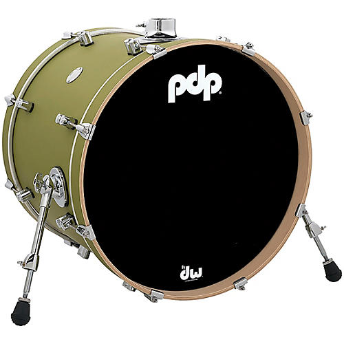 PDP by DW Concept Maple Bass Drum with Chrome Hardware