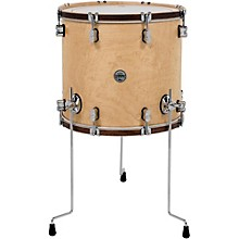 Concept Maple Classic Floor Tom with Tobacco Hoops 14 x 14 in. Natural