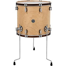 Concept Maple Classic Floor Tom with Tobacco Hoops 18 x 16 in. Natural