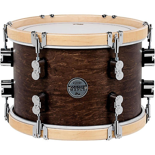 pdp by dw concept maple classic tom with natural hoops 12 x 8 in tobacco guitar center. Black Bedroom Furniture Sets. Home Design Ideas