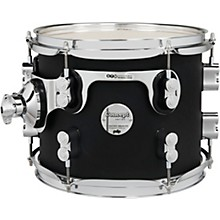 Concept Maple Rack Tom with Chrome Hardware 10 x 8 in. Satin Black