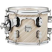 Concept Maple Rack Tom with Chrome Hardware 10 x 8 in. Twisted Ivory