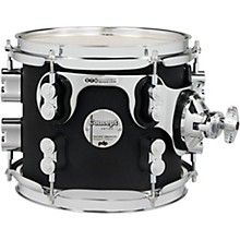 Concept Maple Rack Tom with Chrome Hardware 8 x 7 in. Satin Black