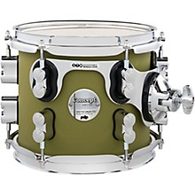 Concept Maple Rack Tom with Chrome Hardware 8 x 7 in. Satin Olive