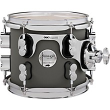 Concept Maple Rack Tom with Chrome Hardware 8 x 7 in. Satin Pewter