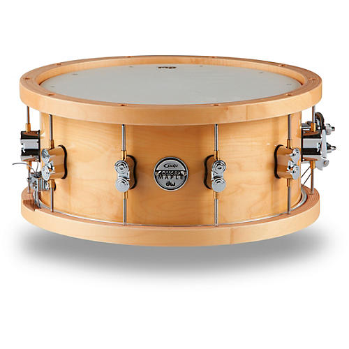 PDP by DW Concept Series 20-Ply Snare Drum with Wood Hoops