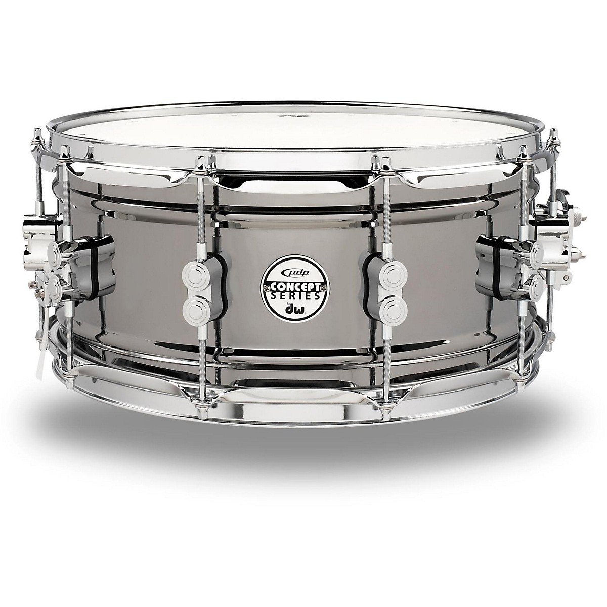 PDP by DW Concept Series Black Nickel Over Steel Snare Drum