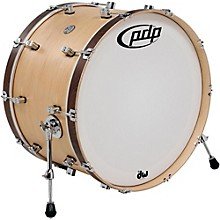 Concept Series Classic Wood Hoop Bass Drum 24 x 14 in. Natural/Walnut