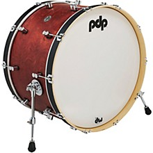 Concept Series Classic Wood Hoop Bass Drum 24 x 14 in. Ox Blood/Ebony Stain