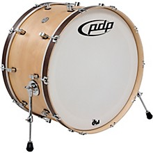 Concept Series Classic Wood Hoop Bass Drum 26 x 14 in. Natural/Walnut