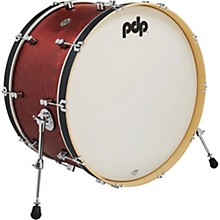 Concept Series Classic Wood Hoop Bass Drum 26 x 14 in. Ox Blood/Ebony Stain