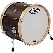 PDP by DW Concept Series Classic Wood Hoop Bass Drum Level 1 22 x 16 in. Walnut/Natural