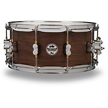 Concept Series Limited Edition 20-Ply Hybrid Walnut Maple Snare Drum 14 x 6.5 in. Satin Walnut