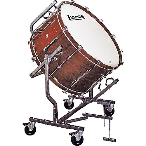 ludwig concert bass drum w le788 stand guitar center. Black Bedroom Furniture Sets. Home Design Ideas
