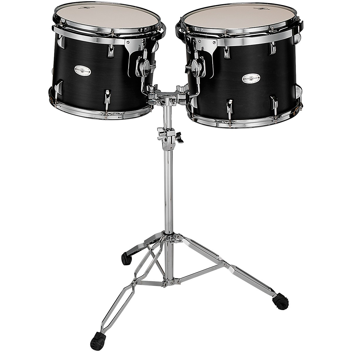 Black Swamp Percussion Concert Black Concert Tom Set with Stand