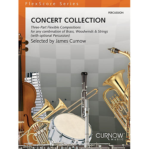 Curnow Music Concert Collection (Grade 1.5) (Percussion) Concert Band Level 1.5 Composed by Various