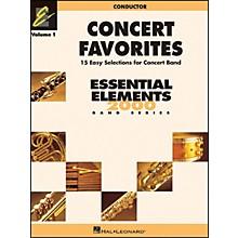 Hal Leonard Concert Favorites Vol1 Conductor