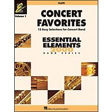 Hal Leonard Concert Favorites Vol1 Flute