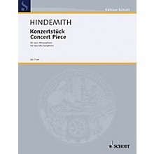 Schott Concert Piece (Performance Score) Schott Series  by Paul Hindemith