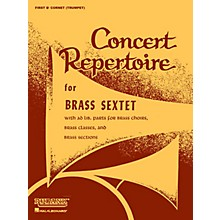 Rubank Publications Concert Repertoire for Brass Sextet (1st B-flat Cornet/Trumpet) Ensemble Collection Series