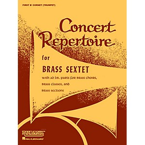 Click here to buy Rubank Publications Concert Repertoire for Brass Sextet 3rd and 4th Cornet... by Rubank Publications.