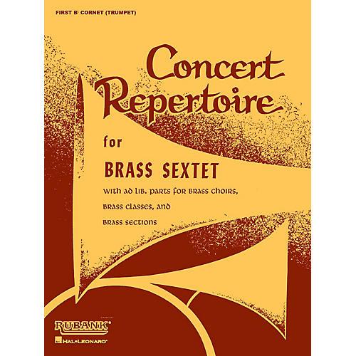Rubank Publications Concert Repertoire for Brass Sextet (Baritone B.C. (5th Part)) Ensemble Collection Series