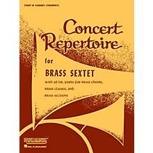 Rubank Publications Concert Repertoire for Brass Sextet (Full Score) Ensemble Collection Series