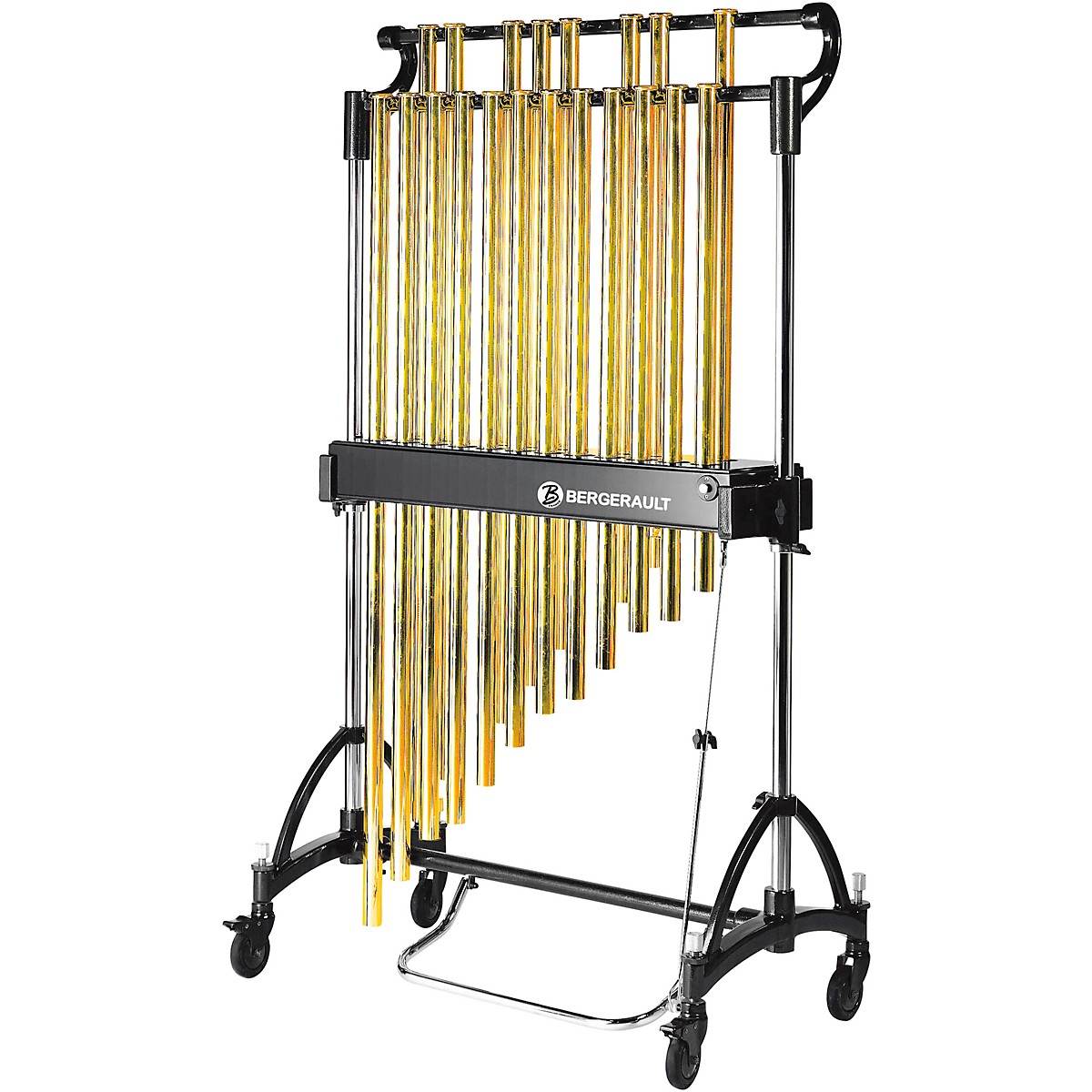 Bergerault Concert Series Chimes, 1.6 Octave (C5-G6), Gold Tubes