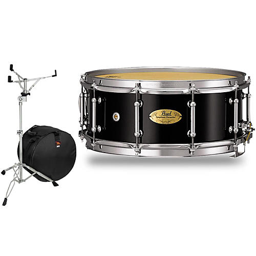 Pearl Concert Series Snare Drum with Stand and Free Bag