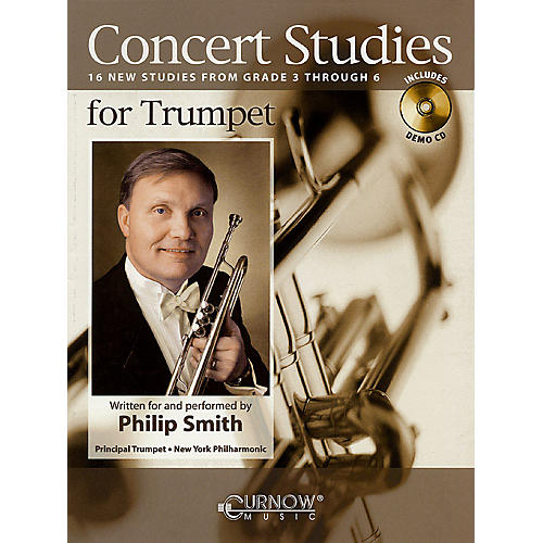 Curnow Music Concert Studies for Trumpet (Grade 3-6) Concert Band Level 3-6 performed by Philip Smith