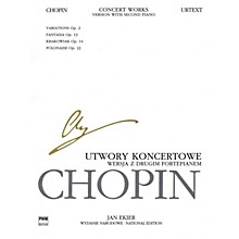 PWM Concert Works for Piano and Orch - Version with 2nd Piano PWM Softcover by Chopin Edited by Jan Ekier
