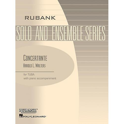 Rubank Publications Concertante (Tuba Solo in C (B.C.) with Piano - Grade 4) Rubank Solo/Ensemble Sheet Series Softcover