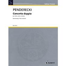 Schott Concerto Doppio String Series Softcover Composed by Krzysztof Penderecki