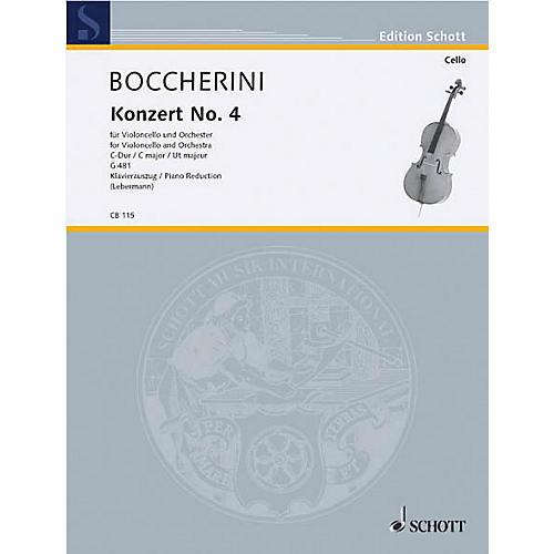 Schott Concerto No. 4 C Major (Cello) Schott Series