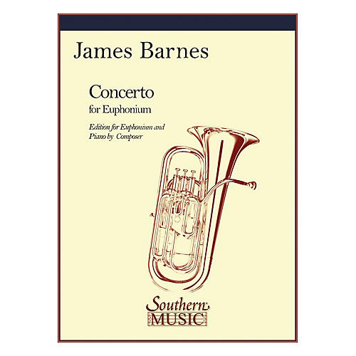 Southern Concerto, Op. 132 (Baritone) Southern Music Series Composed by James Barnes