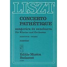 Editio Musica Budapest Concerto Pathetique For Piano And Orchestra Score EMB Series