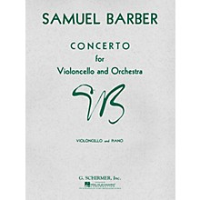 G. Schirmer Concerto (Score and Parts) String Solo Series Composed by Samuel Barber