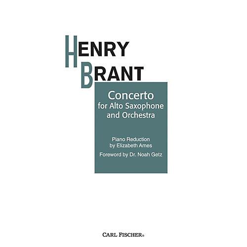 Carl Fischer Concerto for Alto Sax and Orchestra