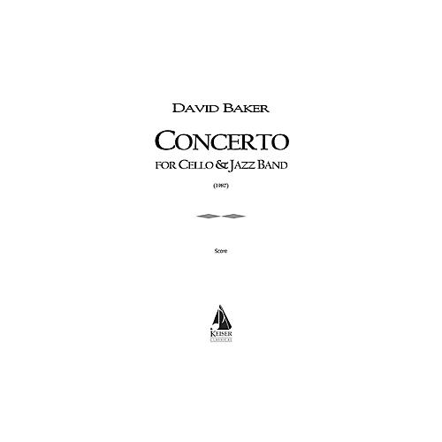 Lauren Keiser Music Publishing Concerto for Cello and Jazz Band LKM Music Series Composed by David Baker